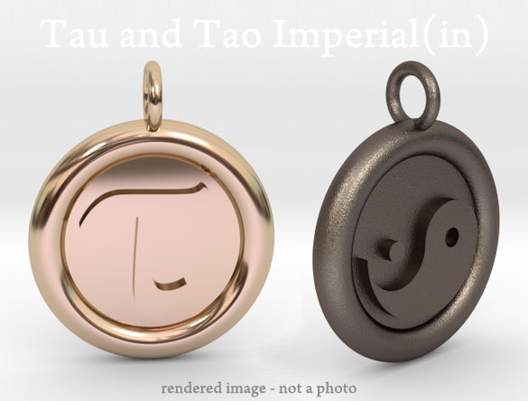 tau and tao imperial inch circle constant
